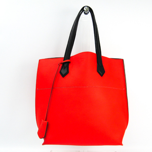 Fendi All In Shopping Tote 8BH262 Women's Leather Tote Bag Black,Red