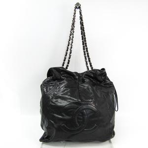 シャネル(Chanel) キャビア・スキン チェーンショルダー レディース キャビアスキン ショルダーバッグ ブラック
