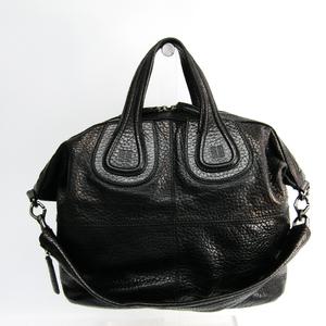 ジバンシィ (Givenchy) ナイチンゲール ミディアム 13L5008060 レザー ショルダーバッグ ブラック