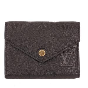 ルイ・ヴィトン (Louis Vuitton)   財布 モノグラムアンプラント ポルトフォイユヴィクトリーヌ M64060 【新品同様】レディース