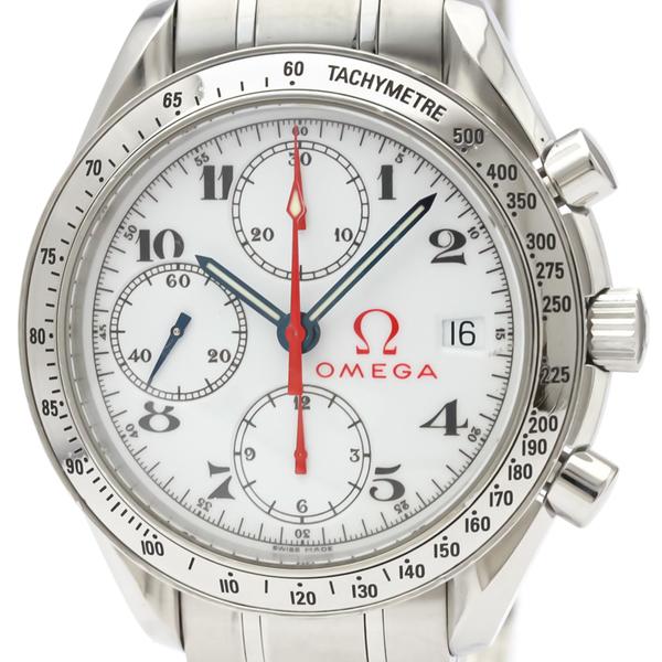 【OMEGA】オメガ スピードマスター オリンピック コレクション ステンレススチール 自動巻き メンズ 時計 3513.20