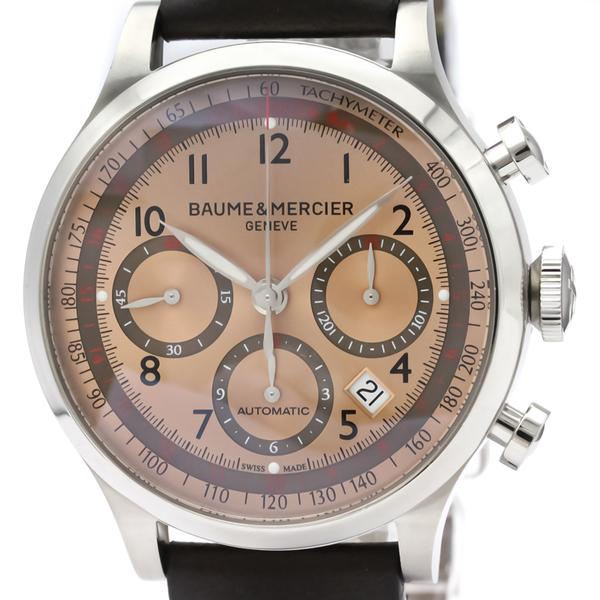 ボーム&メルシエ(Baume & Mercier) ケープランド 自動巻き ステンレススチール(SS) メンズ スポーツウォッチ MOA10045