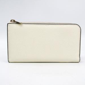ヴァレクストラ(Valextra) V9L24 ユニセックス  カーフスキン 長財布(二つ折り) ホワイト