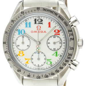 Omega Speedmaster Automatic Stainless Steel Men's Sports Watch 3836.70.36