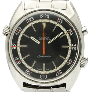 Omega Seamaster Mechanical Stainless Steel Men's Sports Watch 145.008