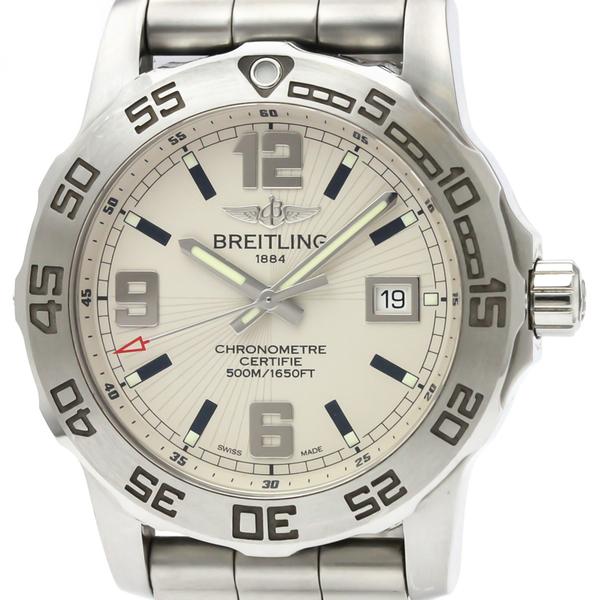 ブライトリング(Breitling) コルト クォーツ ステンレススチール(SS) メンズ スポーツウォッチ A74387