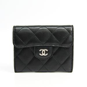 シャネル(Chanel) マトラッセ A31504  ラムスキン 小銭入れ・コインケース ブラック