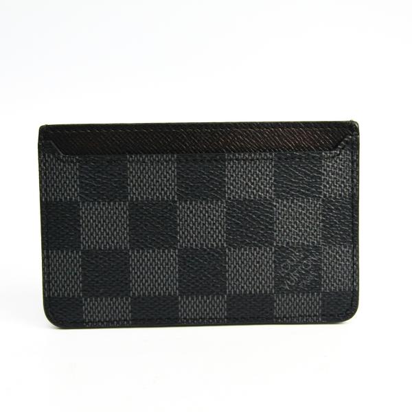 ルイ・ヴィトン(Louis Vuitton) ダミエグラフィット ネオポルトカルト N62666 ダミエグラフィット カードケース ダミエ・グラフィット