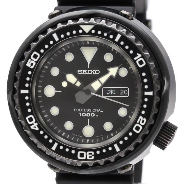 【SEIKO】セイコー プロスペック マリンマスター ステンレススチール ラバー クォーツ メンズ 時計 SBBN011(7C46-0AA0)