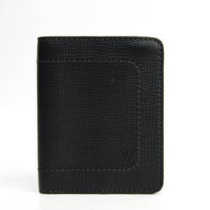 ルイ・ヴィトン (Louis Vuitton) ユタ コンパクトウォレット M97021 メンズ ユタ 財布(二つ折り) バサルト