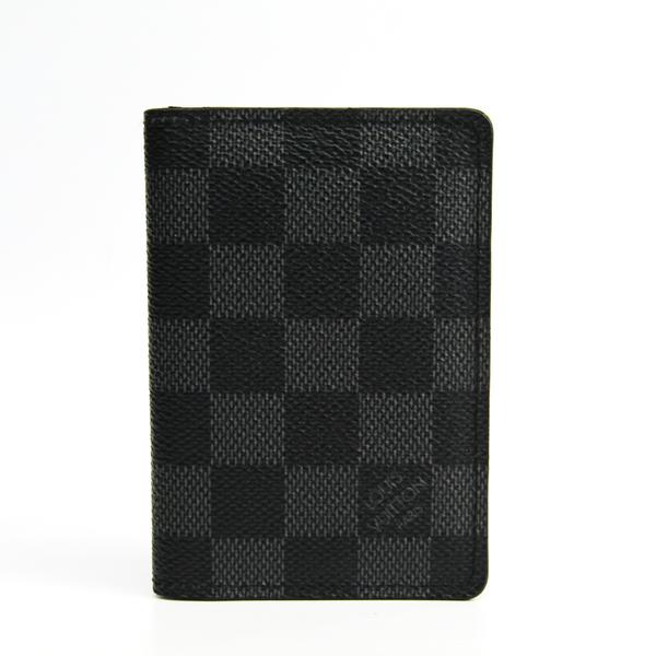 ルイ・ヴィトン(Louis Vuitton) ダミエグラフィット オーガナイザー ドゥ ポッシュ N63075 ダミエキャンバス カードケース ダミエ・グラフィット