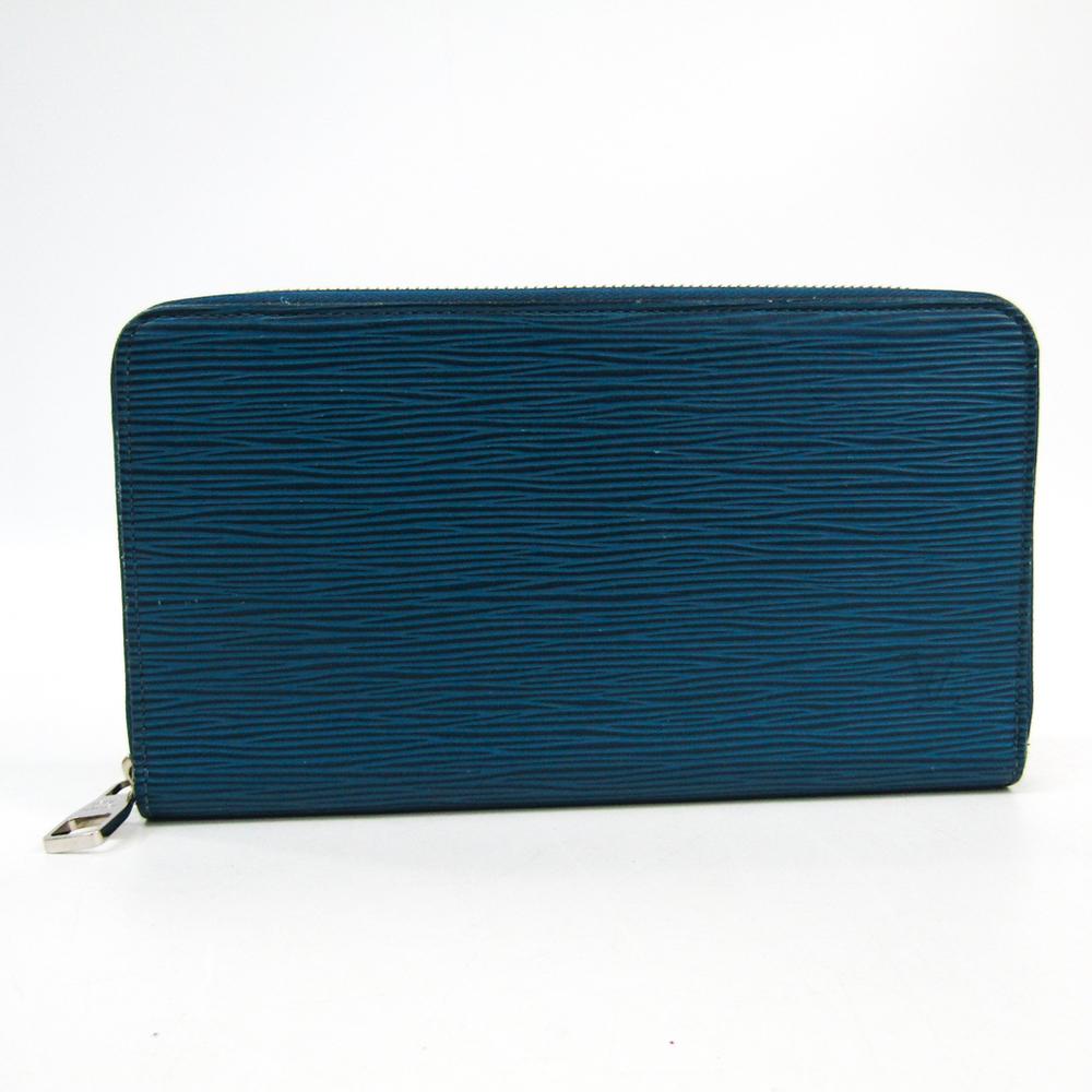 online retailer 2825e 8e91d ルイ・ヴィトン (Louis Vuitton) エピ ジッピー・オーガナイザー M60619 メンズ エピレザー 長財布(二つ折り) ブルーセレスト  | eLady.com