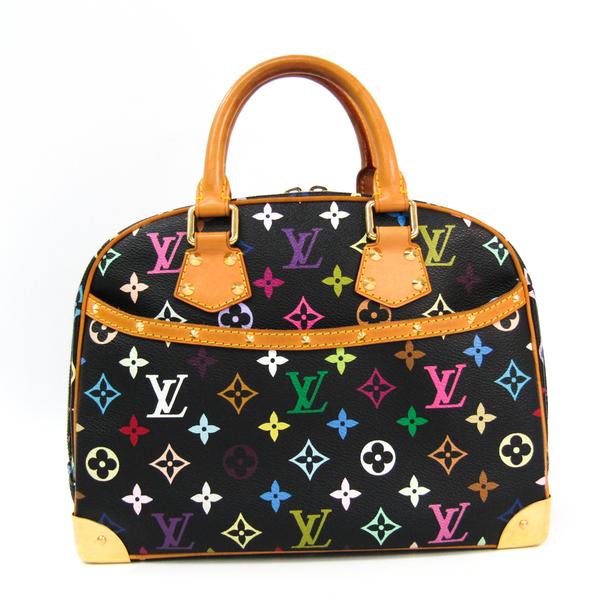 ルイ・ヴィトン(Louis Vuitton) モノグラムマルチカラー トゥルーヴィル M92662 ハンドバッグ ノワール