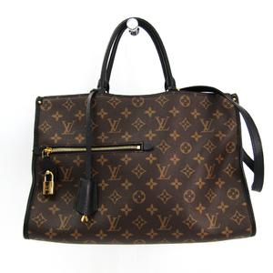 Louis Vuitton Monogram Popan Cool MM M43435 Women's Handbag Monogram,Noir