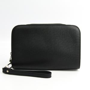 Louis Vuitton Taiga Baikal M30182 Men's Clutch Bag Ardoise