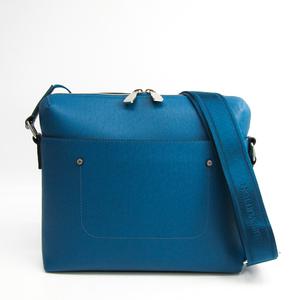 ルイ・ヴィトン (Louis Vuitton) タイガ グリゴリ メッセンジャー M30235 アイスバーグ メンズ タイガ ショルダーバッグ ブルー