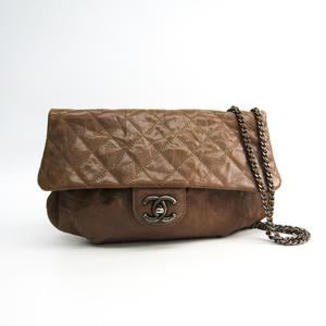 シャネル(Chanel) キャビア・スキン ハーフムーン A67317 レディース レザー ショルダーバッグ ベージュ