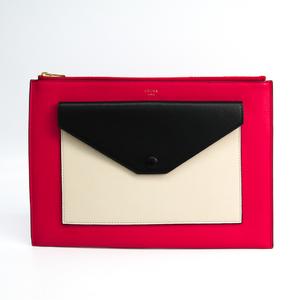 Celine Clutch With Flap Pocket 103383UAB.25DF Women's Leather Clutch Bag Black,Light Beige,Pink