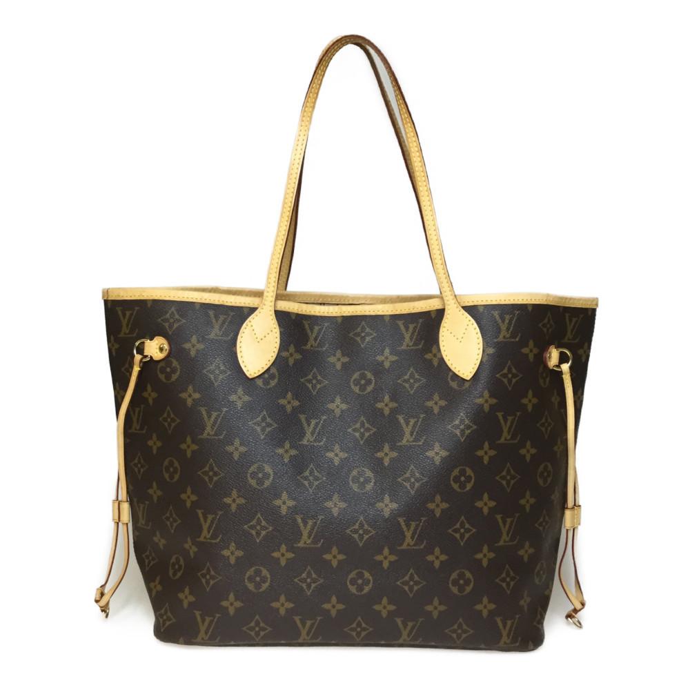 a648d37a Auth Louis Vuitton Monogram M40156 Neverful MM Women's Tote Bag | eLady.com