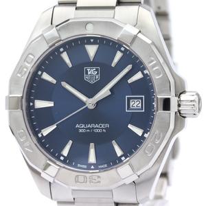 Tag Heuer Aquaracer Quartz Stainless Steel Men's Sports Watch WAY1112