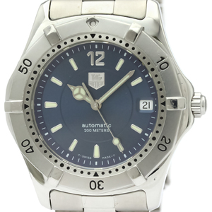 TAG HEUER 2000 Classic Steel Automatic Mens Watch WK2117