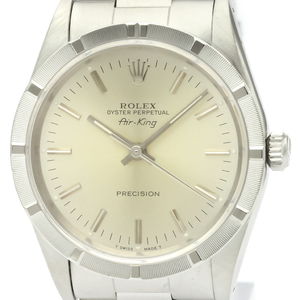 Rolex Airking Automatic Stainless Steel Men's Dress Watch 14010
