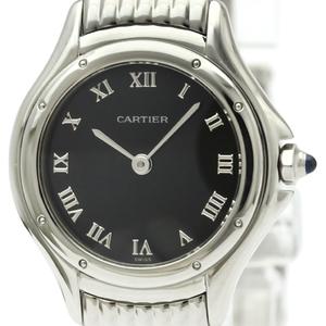 カルティエ(Cartier) パンテール クーガー クォーツ ステンレススチール(SS) レディース ドレスウォッチ