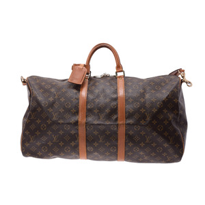 Louis Vuitton (Louis Vuitton) Monogram Keepol 55 M41414 Bag With Strap