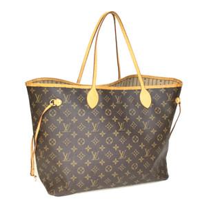 Auth Louis Vuitton Monogram M40157 Women's Tote Bag neverful GM