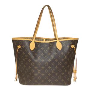 Auth Louis Vuitton Monogram M40156 Women's Tote Bag neverful MM