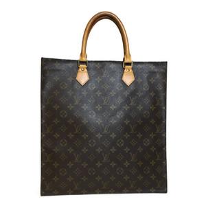Auth Louis Vuitton Monogram M51140  Sack Pla Tote Bag