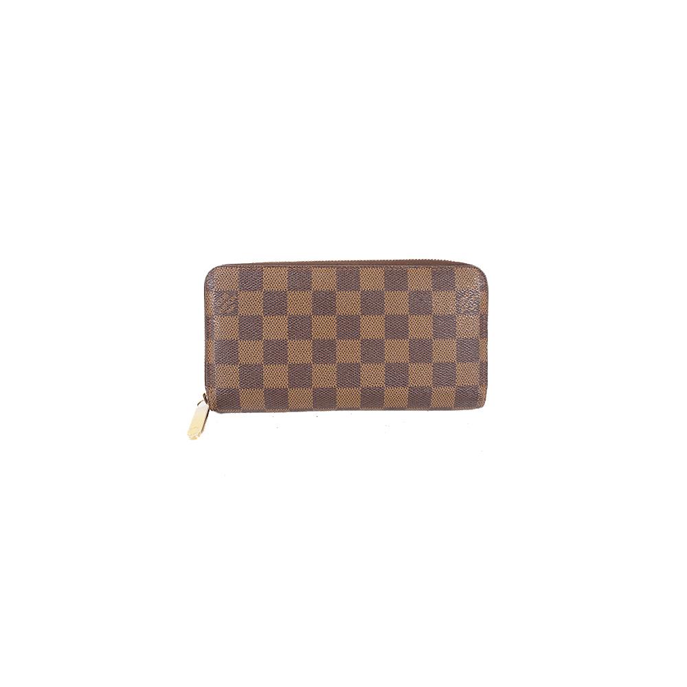 buy popular 1a87a cde84 Auth Louis Vuitton Long Wallet Damier Zippy Wallet N60015 ...