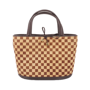 Auth Louis Vuitton Damier Sauvage M92133 Women's Handbag,Damier Sauvage