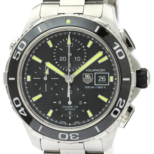 Tag Heuer Aquaracer Automatic Stainless Steel Men's Sports Watch CAK2111