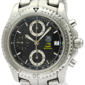 TAG HEUER LINK Chronograph Ayrton Senna Limited Watch CT5114