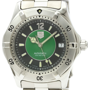 Tag Heuer 2000 Series Automatic Stainless Steel Men's Sports Watch WK2115