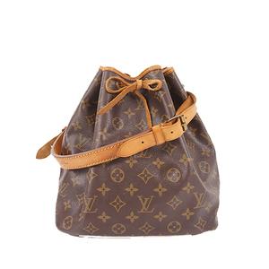Auth Louis Vuitton Shoulder bag Monogram Petit Noe M42226