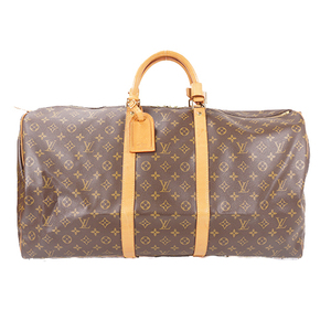 Auth Louis Vuitton Monogram M41422 Men,Women,Unisex Boston Bag Monogram