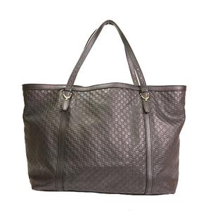 Auth Gucci  Tote Bag Microsima 309613 Black Men,Women,Unisex