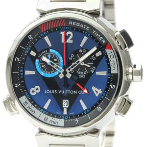 ルイ・ヴィトン (Louis Vuitton) タンブール クォーツ ステンレススチール(SS) メンズ スポーツウォッチ Q102D0