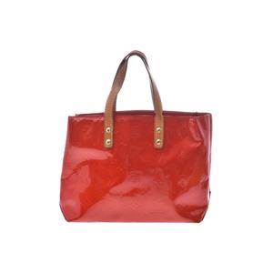 ルイ・ヴィトン(Louis Vuitton) モノグラムヴェルニ リードPM M91088 ハンドバッグ ルージュ
