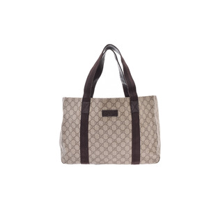 Gucci GG Canvas PVC Bag Beige