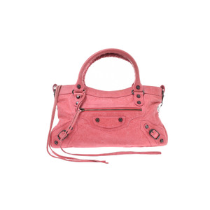 Balenciaga First Handbag Bag Pink