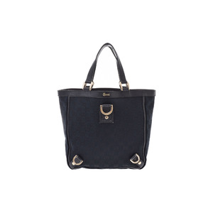 Gucci GG Canvas Canvas Bag Black