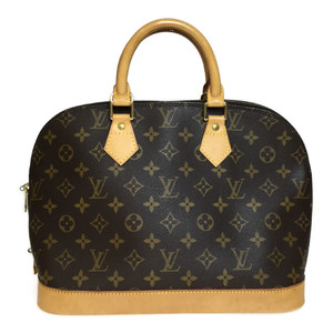 Auth Louis Vuitton Monogram M51130 Alma Handbag