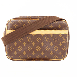 Auth Louis Vuitton Shoulder bag Monogram Reporter PM M45254