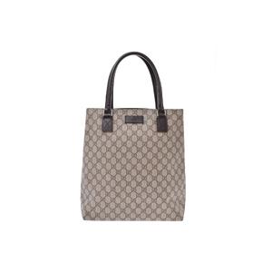 Gucci GG Canvas PVC Bag Brown