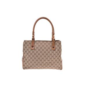 Gucci GG Canvas Canvas Bag Beige