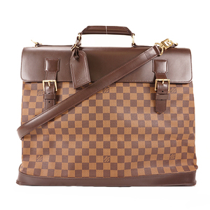 Auth Louis Vuitton Boston Bag Damier Westend PM N41130