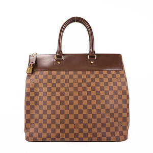 Auth Louis Vuitton Boston Bag Damier Greenwich PM N41165